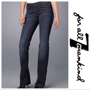 💕SALE💕7 for all Mankind Black High Waist bootcut